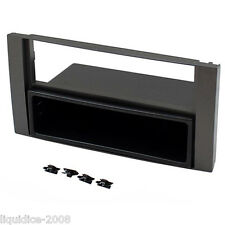 Ct24fd10 FORD FIESTA 2005 in poi NERO FASCIA Facia Panel Adattatore Surround