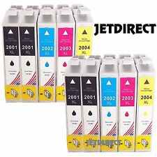 10 pk JETDIRECT T200XL ink for Epson WF-2520 WF-2530 WF-2540 XP-210 XP-310