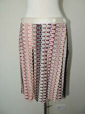 Authentic~Missoni~Multi Colored Skirt w/Wrap Closure and Large Pleats~Size 44