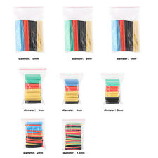 328tlg.Schrumpfschlauch Set 2:1 Heat Shrink Tubing Tube Wrap Sleeve Kit 5 Colors