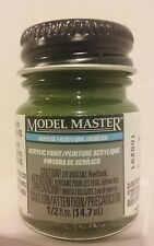 Testors Model Master Acrylic paint 4726, Dark Green.