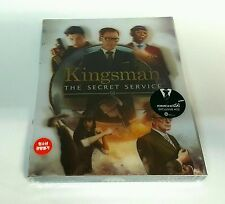 KINGSMAN THE SECRET SERVICE Blu-ray STEELBOOK [KIMCHIDVD] LENTICULAR [KOREA] OOP