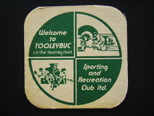 TOOLEYBUC SPORTING AND RECREATION CLUB LTD TRADING HOURS COASTER