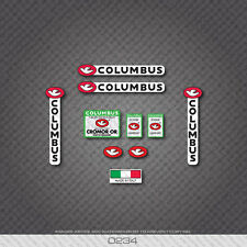 0234 Columbus CROMOR OR Bicycle Frame and Fork Stickers - Decals