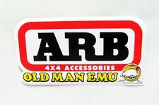 2x ARB OLD MAN EMU CAR RACING PARTS STICKER DECALS 3.0 X 5.7In.