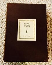 FIFTY YEARS ADRIFT-Signed by George Harrison-Genesis Publications-1st-RARE-OOP