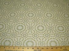 """~5 YDS~""""MODERN RETRO DOTS RINGS""""~WOVEN AWSOME UPHOLSTERY FABRIC FOR LESS~"""