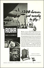 1943 WW2 AD  ROHR Aircraft Parts and Assemblies B-24 Liberator Bomber  010315