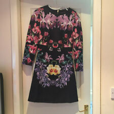 Ted Baker Lost Garden Long Sleeve Dress  sz 3 UK 12