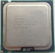 Second Intel Pentium D PD 945 3.4 GHz 4M 800MHz Dual-Core Processor LGA775 CPU