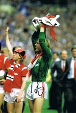 Signed Gary Bailey Manchester United FA Cup Final 1985 Autograph Photo