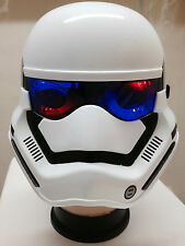 Kids Stormtrooper Mask Light Up Flashing Space Movie Fancy Dress Masquerade