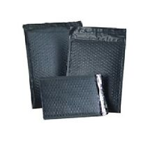 """6.5"""" x 9"""" Black Color Poly Bubble Mailers Self Seal #0 DVD Qty 350 Free Ship"""