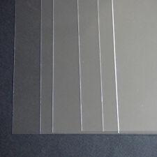 1 x A3 de la plantilla Hojas Transparentes Pvc 220 Micron película de plástico de hoja, Reutilizable