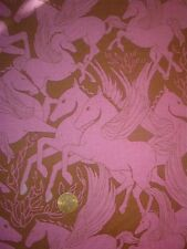 FREE SPIRIT cotton fabric-mythical winged horses-FIBS & FABLES-Anna Maria Horner