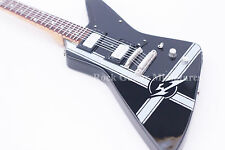 RGM668 James Hetfield METALLICA Black Explorer Miniature Guitar