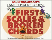 John THOMPSON'S Facile corso di pianoforte primo scale & Broken Corde