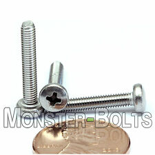 M3 x 18mm - Qty 10 - Stainless Steel Phillips Pan Head Machine Screws DIN 7985 A
