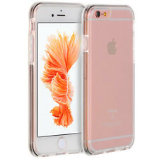 Luxury Hybrid Clear TPU/Plastic Bumper Back Cover Case for Apple iPhone 6/6 Plus
