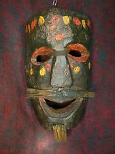 Nepal - Old Samang wood mask / Máscara Samang antigua de madera