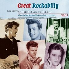 GREAT ROCKABILLY VOL.5 - JUST ABOUT AS GOOD AS IT GETS!  2 CD NEU