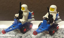 2x Lego 6804 Surface Rover Lunar Taxi 1984 Raumschiff Space + Astronaut Classic