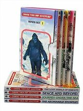 Choose Your Own Adventure 4 Book Boxed Set #1 : The Abominable...