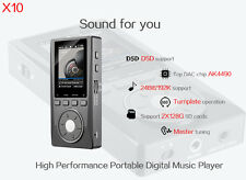 XDuoo X10 HIFI Lossless Music Player Support WIN7 10 Output MP3 Player 192/24bit