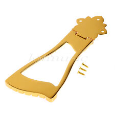 Gold 6 String Jazz Guitar Bridge Tailpiece For Hollow Body Archtop Guitar