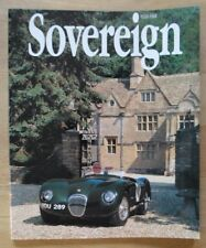 JAGUAR SOVEREIGN orig 1991 International Magazine Brochure - Edition 4