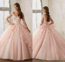 Pink Blue Quinceanera Dresses for 15 Years Formal Sweet 16 Prom Party Ball Gowns