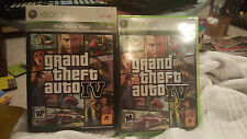 Grand Theft Auto IV (Xbox 360) W/ PREORDER EXCLUSIVE POSTER & GAMERPICS!! RARE!!
