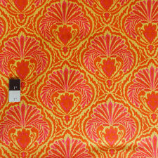 Dena Designs PWDF163 Tangier IKAT Shell Orange Cotton Fabric By Yard