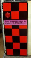 """HI-BROWS suggestive card Checkers humor vtg 1970s hippy Bohemian """"New Moves"""""""