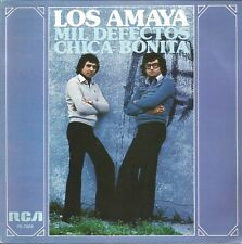 LOS AMAYA-MIL DEFECTOS + CHICA BONITA SINGLE VINILO 1978 PROMOCIONAL SPAIN