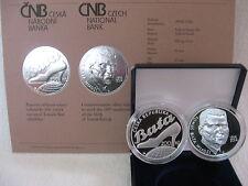 República Checa 2014 200 coronas de plata pp proof-Tomas Bata -
