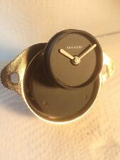 Jaguar S1 inset time clock, fits E-type / Mk 2 / Daimler V8 2.5 Ltr & others
