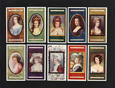 CIGARETTE CARDS.Player Tobacco.MINIATURES.(Paintings).(Lovely Ladies).(Set).1923
