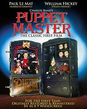 NEW & SEALED Puppet Master 1 Horror Blu Ray Remastered 5.1 US Import Region A
