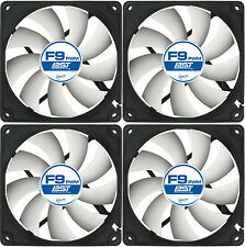 4 x Arctic Cooling F9 PWM PST 92mm Case Fans 1800 RPM (AFACO-090P0-GBA01) Artic