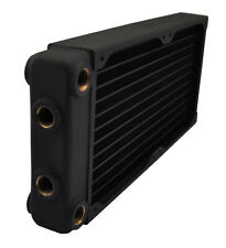 XSPC EX240 Multiport Dual 120mm Fan Water Cooling 240mm Radiator Black
