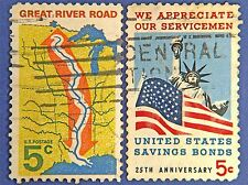 AMERICAN POSTAGE STAMPS VINTAGE PHOTO ART PRINT POSTER PICTURE BMP1118A