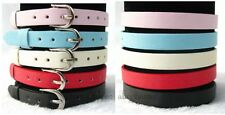 10pcs Frosted  8*210mm PU Leather Bracelet Wristband Fit DIY Slide Charms/Letter