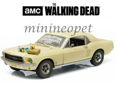 GREENLIGHT 12958 THE WALKING DEAD 1967 FORD MUSTANG 1/18 SOPHIA MESSAGE CAR
