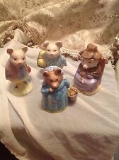 ASSORTMENT OF 4 ROYAL ALBERT ANIMAL FIGURINES ~ MADE IN ENGLAND