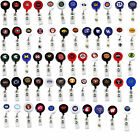 retractable badge reel lanyard NCAA PICK YOUR TEAM