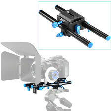 "Neewer 15mm Rail Rod Support System DSLR Camera Mount 9.8""/25cm Long"