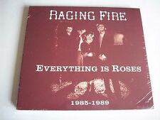 Raging Fire Everything is Roses 1985-1989 CD 2015 NEW