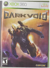 DARK VOID (Xbox 360, 2010) INCLUDES INSTRUCTIONS
