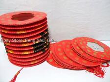 10 Set Lot Chinese Asian Party Hanging Paper Lantern Party New Year Decoration R